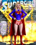 Supergirl Matrix Costume for V4 and A4 by Terrymcg