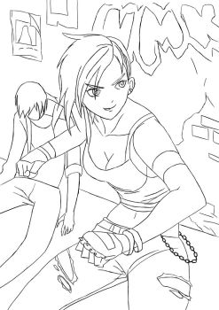 Punk Chick by Linkonpark