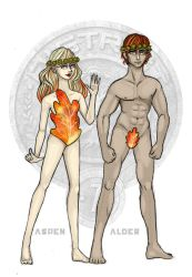 The Hunger Games - District 7 Tributes by Windnstorm