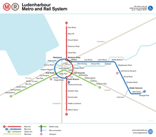 Ludenharbour Metro and Rail (alt. England/Estonia) by schreibstang