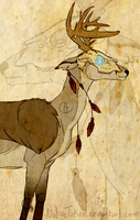 Whitetail Warrior by WinterWhitetail