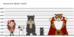 Character Line Up by Bordercollie15