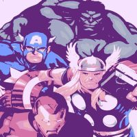 The Avengers pop art by DevintheCool