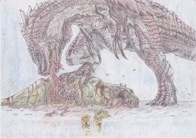 dragon meal by DWito9