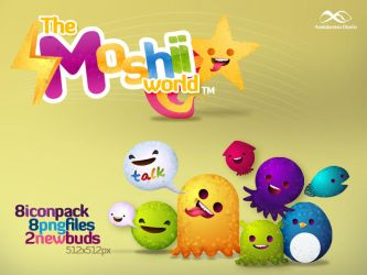 New Moshii World - Icon Pack by anekdamian