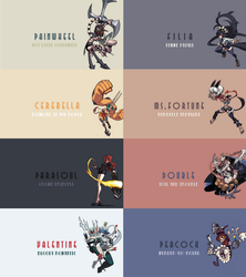 Skullgirls HD Wallpaper Pack (1920x1080) by DeJakob