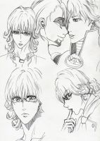 Barnaby Brooks Jr. Sketches by cloudstrifejen