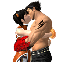 Tekken - Be Mine...Forever - Xiaoyu X Jin by CaliburWarrior