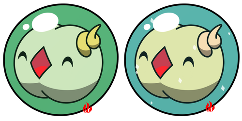 Pokemon #577 - Solosis by Fyreglyphs