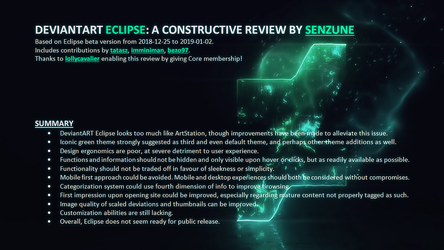 Eclipse - A constructive review by Senzune by Senzune
