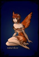 Peaches the Animal fairy by nfhas