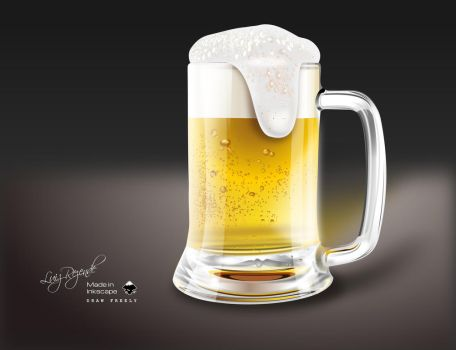 Beer Mug by luizrezende