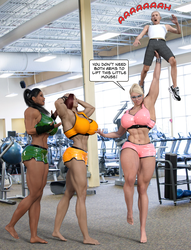 Friends at the Gym by butre3004