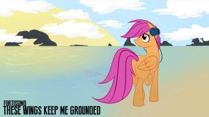 These Wings Keep Me Grounded... by alexsalinasiii