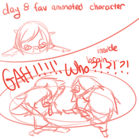 Day 8 Favourite Animated Character by OMGProductions