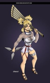 Sexy Temari - Colors by DSNG