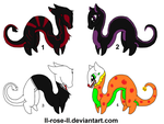 New Adopts: Closed by RoseandherThorns