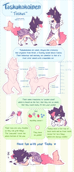 Taskukokoinen - Species reference ( OUTDATED ) by prince-o-sky