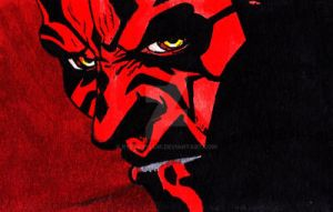 Card: Darth Maul by RyesAsylum