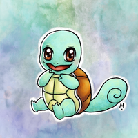 #7 Squirtle - Pokemo Challege by Meridot