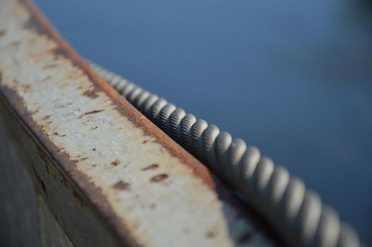 Steel cable by Wrona-Czarna
