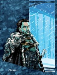 Jon Snow - King in the North by Chris-Yop-Lannes