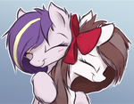 Patreon tier header - Hugs by AurelleahFreefeather