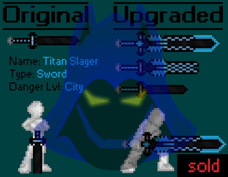 [Auction Showcase/SOLD] Titan Slayer by TheHooddedMage