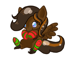 [Point Commission] It's a Sock Pony by KyuremGirl