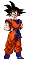 Goku - Hey guys, I'm back by Zed-Creations