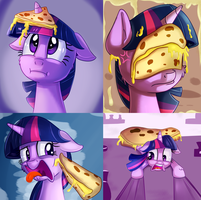 Quesadillas everywhere by thediscorded