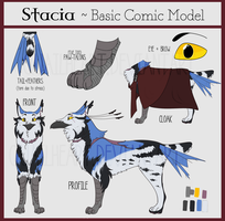 Stacia [2017 MODEL REFERENCE] by Quailheart
