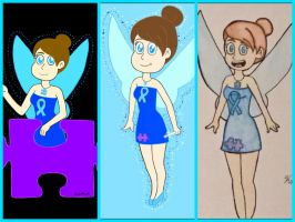 Angela The Autism Fairy Collage  by kmtvm123