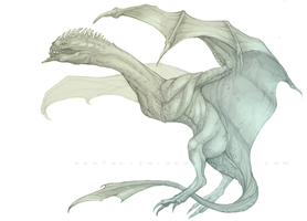 Wyvern by RedTallin