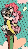 Kisses in Chocolate Rain by ArtisteFish