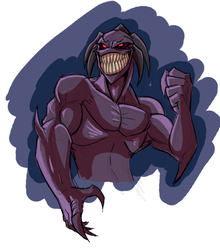 Toothy grin by Mickeymonster