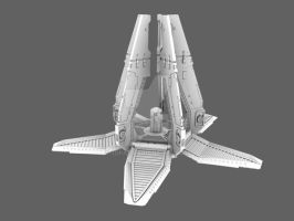 Drop pod with doors WIP by 3DPad