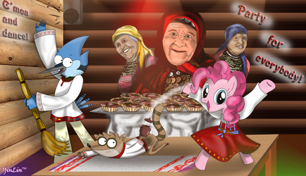 Party for everybody by yinlin1994