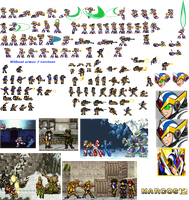 Marcos 12 Complete sprite Sheet by Marcos-12