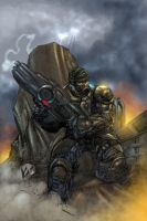 Gears of war by toonfed
