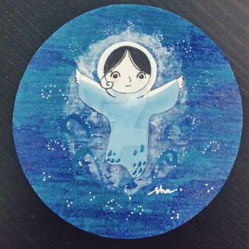 Saoirse - Song of the sea by delalluvia