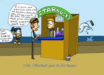 Starbuck's by Julie1091