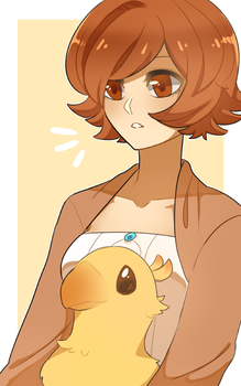 This is my birb by stellarcrown