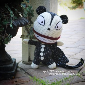 Vampire Teddy by aphid777