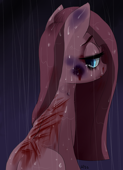 I was waiting for you to help me (Bloody version) by MissPolycysticOvary