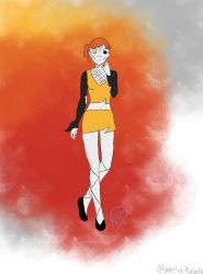 This girl is on fire by Amelia-Rochelle