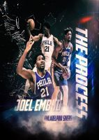 Joel Embiid The Process by AYGBMN