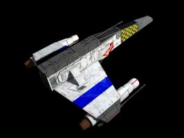 Mk 5 E-Wing, Ossus Defense 2 by ChrisNs