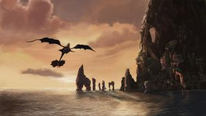 Color Study - How to Train Your Dragon [2015] by brianNL