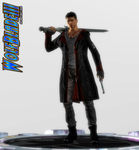 It's Dante, Not Donte. by WOLFBLADE111